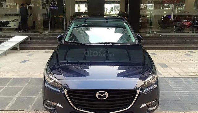Cần bán Mazda 3 năm 2019, màu xanh lam, giá 669tr