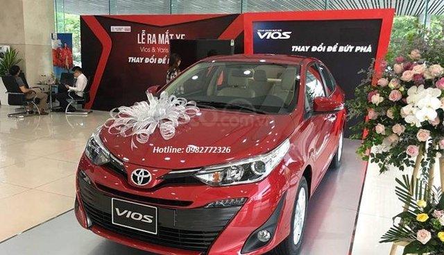 Bán xe Toyota Vios 2019 tại Hải Dương, liên hệ 0982772326-hỗ trợ trả góp 80%