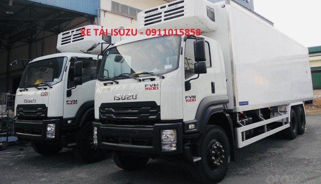 Bán xe tải Isuzu 15 tấn thùng đông lạnh, giá tốt