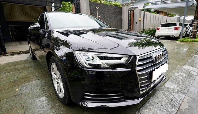 Bán Audi A4 2.0 TFSI màu đen, sản xuất 12/2017, đăng ký 10/2018, tên tư nhân chính chủ