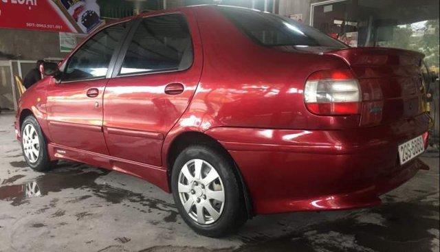 Bán xe Fiat Siena 1.6 năm 2002, màu đỏ, nhập khẩu nguyên chiếc