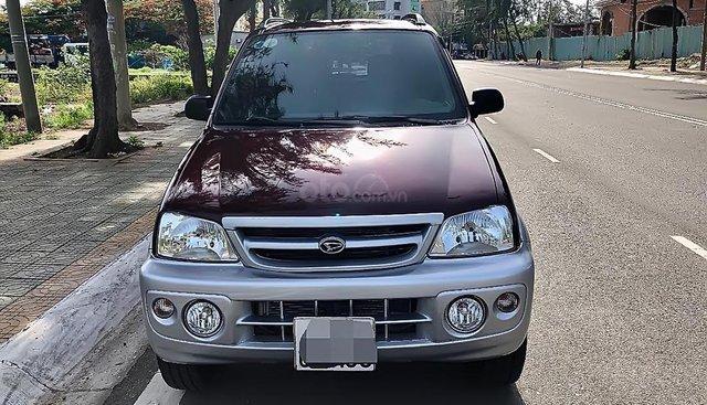 Cần bán lại xe Daihatsu Terios 1.3 4x4 MT đời 2005, màu đỏ còn mới