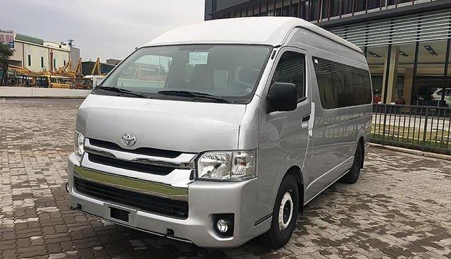 Cần bán xe Toyota Hiace sản xuất 2018, màu bạc, nhập khẩu