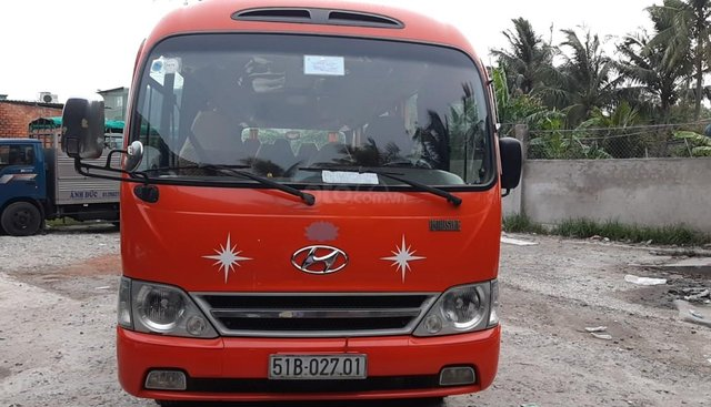 Bán ô tô Hyundai County G 2011, màu đỏ