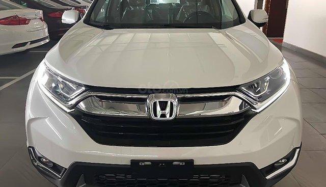 Bán Honda CR V E năm 2019, màu trắng, nhập khẩu