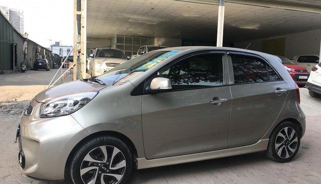 Cần bán xe Kia Morning Si đời 2016, màu xám (ghi)