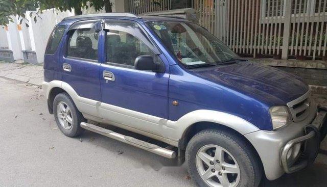 Bán ô tô Daihatsu Terios sản xuất năm 2005, màu xanh lam, nhập khẩu