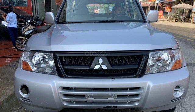 Cần bán xe Mitsubishi Pajero năm sản xuất 2006, màu bạc, nhập khẩu nguyên chiếc