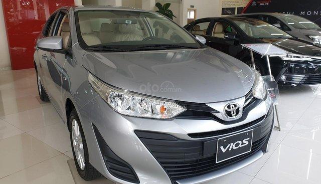Toyota Vũng Tàu bán Toyota Vios E số sàn, đời 2019, màu bạc
