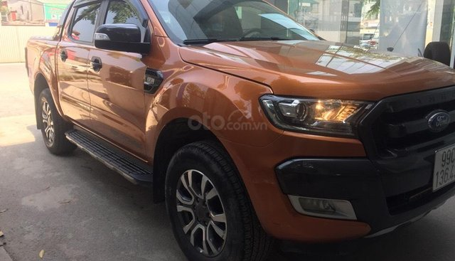 Bán Ford Ranger Wildtrak 2.2 4x2 2018, màu cam, xe nhập, hỗ trợ trả góp 70% giá trị xe