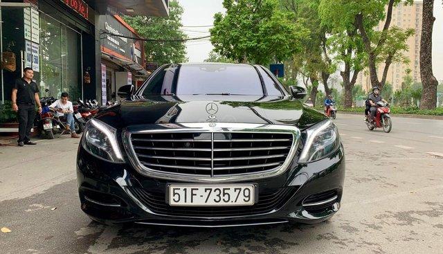 Cần bán xe Mercedes S500L đời 2016, màu đen