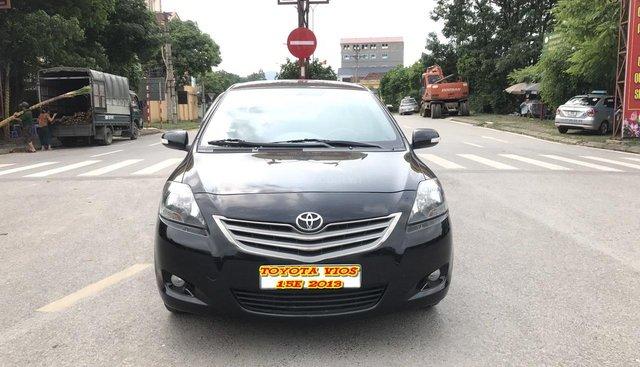 Bán Toyota Vios 1.5E đời 2013, màu đen, mới khủng khiếp