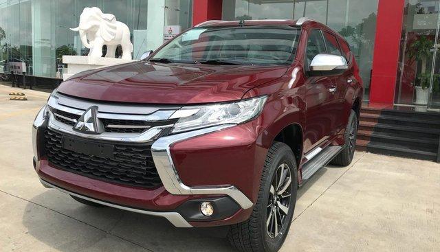 Cần bán Mitsubishi Pajero máy dầu, sản xuất 2019, màu đỏ, liên hệ 0969 496 596 để hỗ trợ kèm khuyến mãi tốt