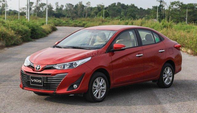 Cần bán Toyota Vios 1.5 G đời 2019, màu đỏ