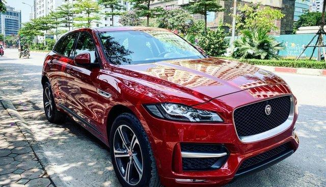 Bán Jaguar F-Pace sản xuất năm 2016, màu đỏ, nhập khẩu nguyên chiếc