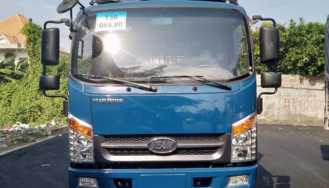 Bán xe tải Veam động cơ Isuzu, tải trọng cho phép chở 1900kg, lòng thùng hàng dài lên đến 6m2