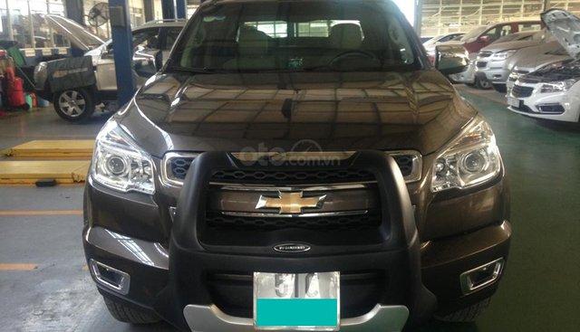 Bán nhanh Chevrolet Colorado LTZ AT 2.8 4WD năm 2016, màu nâu, nhập khẩu