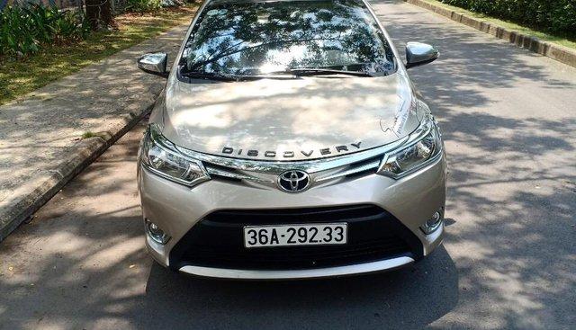 Cần bán Toyota Vios 1.5E đời 2017, sử dụng kĩ, bán gấp 475 triệu