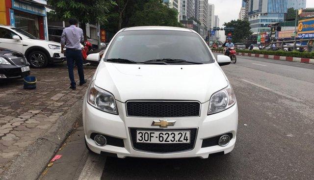 Bán xe Chevrolet Aveo 1.4L LTZ đời 2016, màu trắng, giá 360tr