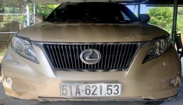 Bán xe Lexus RX 350 năm sản xuất 2009, màu vàng, xe nhập
