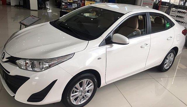 Cần bán Toyota Vios 1.5E MT sản xuất 2019, màu trắng