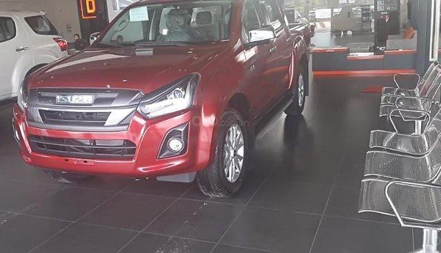 Bán Isuzu Dmax LS Prestige 1.9L 4x2 AT 2018, màu đỏ, nhập khẩu