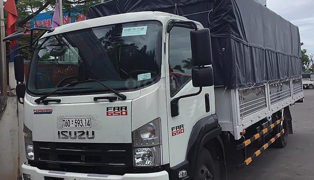 Bán xe tải Isuzu F-SERIES FVR sản xuất 2019, màu trắng