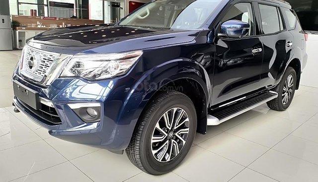 Bán Nissan Terra V năm sản xuất 2019, màu xanh lam, xe nhập