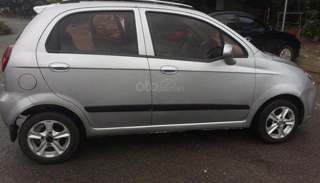 Bán Chevrolet Spark 2012, màu bạc, xe gia đình