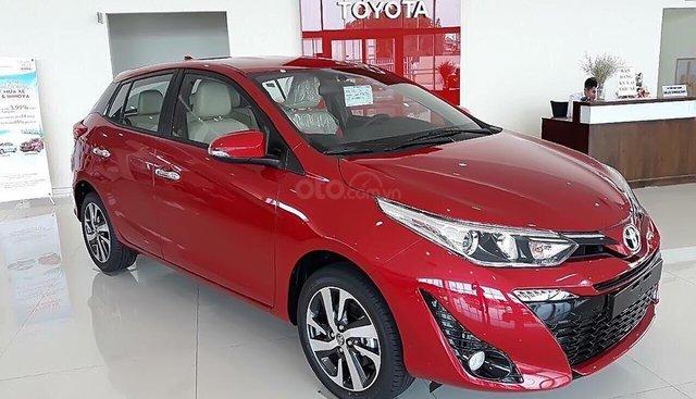 Bán ô tô Toyota Yaris 1.5G năm sản xuất 2019, màu đỏ, nhập khẩu nguyên chiếc