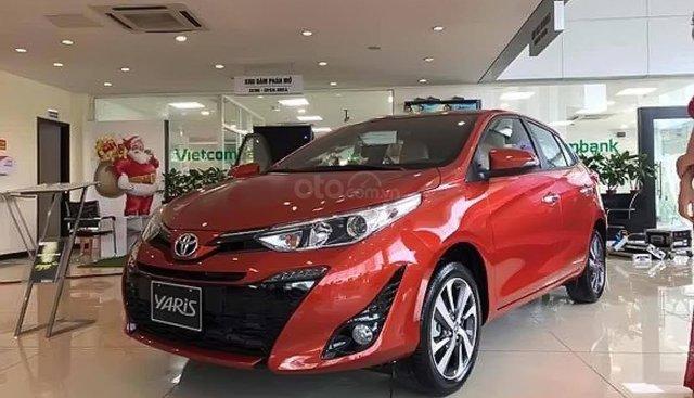 Bán Toyota Yaris 1.5G sản xuất 2019, màu đỏ, xe nhập giá cạnh tranh