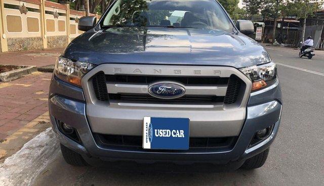 Bán Ford Ranger 2.2 XLS AT đời 2017, màu xanh thiên thanh, xe nhập