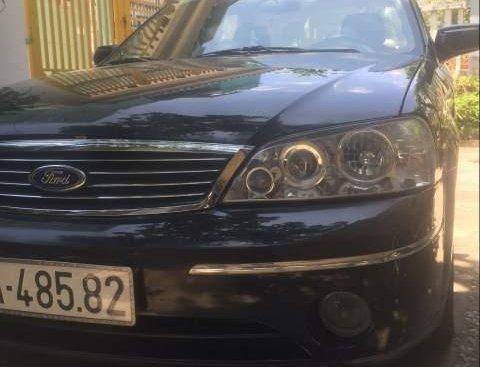 Bán Ford Laser sản xuất 2005, màu đen, nhập khẩu, bản full