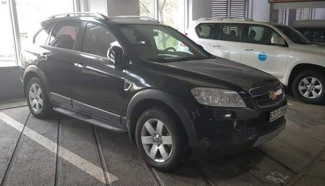 Cần bán lại xe Chevrolet Captiva 2008, màu đen, bảo dưỡng định kỳ, máy móc cực tốt