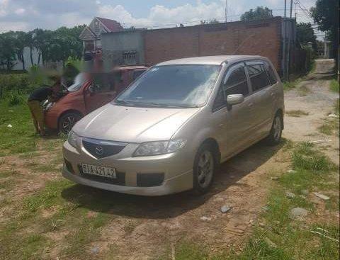 Bán Mazda Premacy sản xuất năm 2003, màu vàng số tự động, giá 168tr