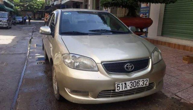 Bán Toyota Vios năm sản xuất 2006, màu vàng, xe nhập