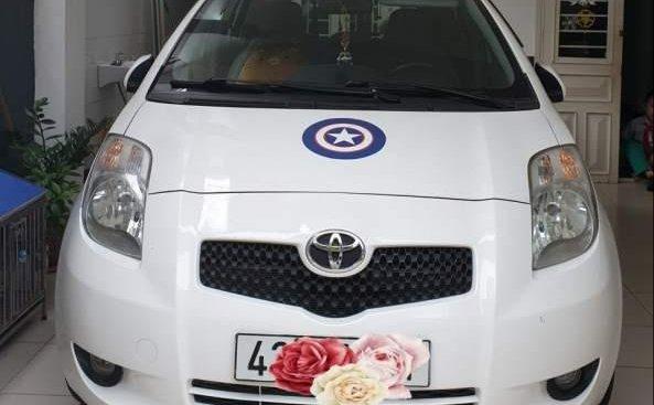 Bán lại xe Toyota Yaris đời 2007, màu trắng, nhập khẩu số tự động