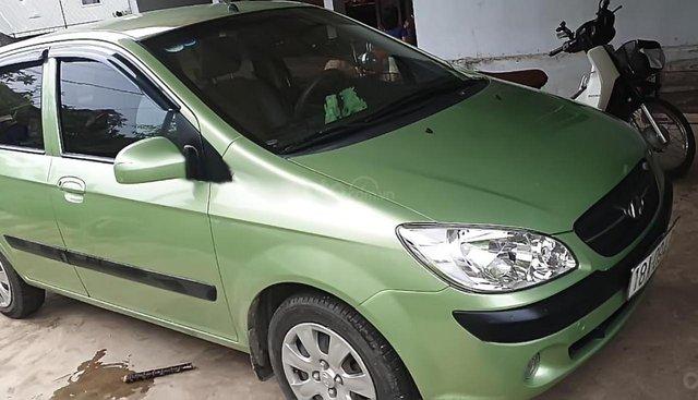 Xe Hyundai Getz 1.1 MT đời 2009, màu xanh lam, nhập khẩu nguyên chiếc