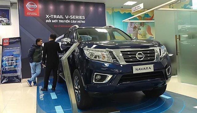 Cần bán xe Nissan Navara VL 2.5 AT 4WD 2019, màu xanh lam, nhập khẩu giá cạnh tranh