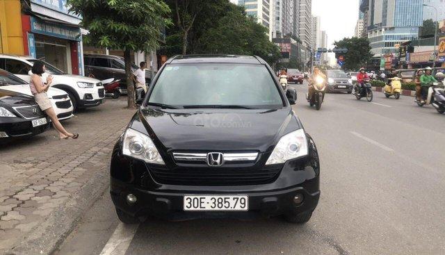Bán Honda CR V 2.0AT năm sản xuất 2008, màu đen, nhập khẩu