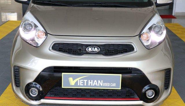 Bán xe Kia Morning Si 1.2AT năm sản xuất 2016, màu vàng