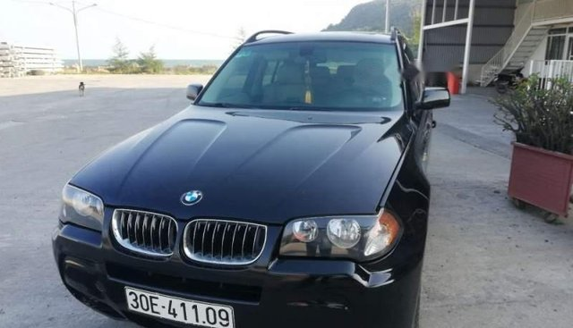 Bán BMW X3 2005, màu đen, nhập khẩu