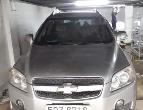 Cần bán lại xe Chevrolet Captiva 2007, màu bạc còn mới, 320tr
