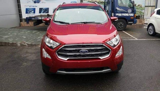 Bán xe Ford EcoSport 1.5L AT titnium đời 2019, màu đỏ