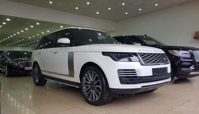 Bán ô tô LandRover Range Rover Autobiography Lwb đời 2019, màu trắng, nhập khẩu