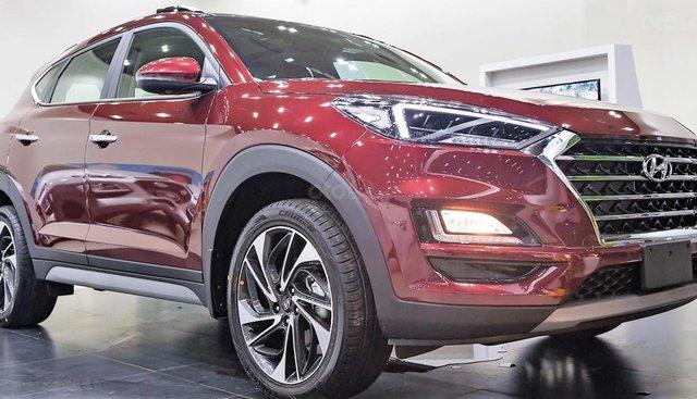 Bán Hyundai Tucson Turbo đời 2019, màu đỏ, 932tr, đủ màu giao ngay, LH 0971626238