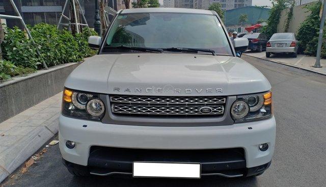 Bán ô tô LandRover Sport Supercharged 5.0L đời 2011, màu trắng, nhập khẩu