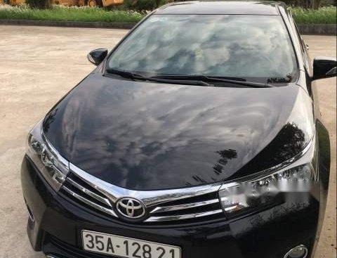 Cần bán xe Toyota Corolla altis sản xuất năm 2014, màu đen