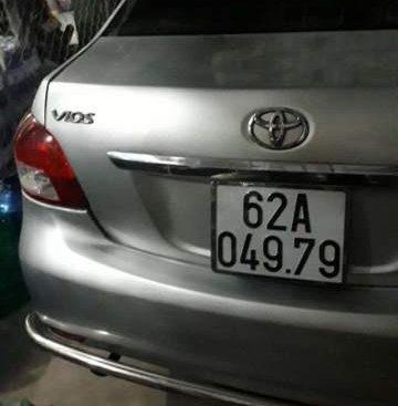 Bán Toyota Vios đời 2008, màu bạc, nhập khẩu nguyên chiếc
