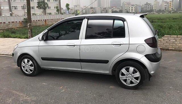 Cần bán Hyundai Getz 1.1 MT năm 2008, màu bạc, nhập khẩu nguyên chiếc